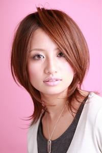 ツヤサラサラモードで大人かわいい前髪のラブクラシカルヘアー1