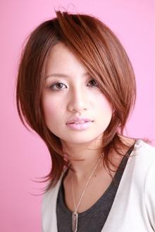 ツヤサラサラモードで大人かわいい前髪のラブクラシカルヘアー1|Hair art chiffon 川口東口店のヘアスタイル