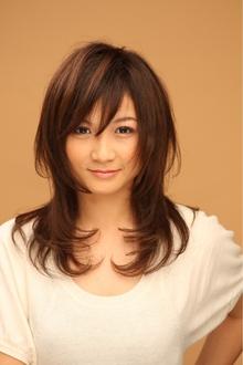 ツヤサラサラモードで大人かわいい前髪のラブクラシカルヘアー10|Hair art chiffon 川口東口店のヘアスタイル