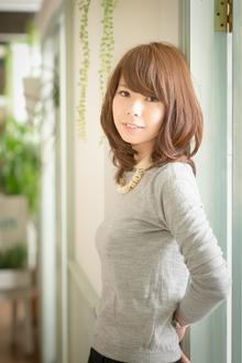 ツヤサラサラモードで大人かわいい前髪のラブクラシカルヘア97|Hair art chiffon 川口東口店のヘアスタイル