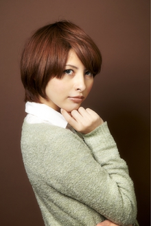 ツヤサラサラモードで大人かわいい前髪のラブクラシカルヘアー20|Hair art chiffon 川口東口店のヘアスタイル