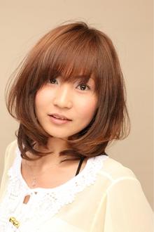ツヤサラサラモードで大人かわいい前髪のラブクラシカルヘアー34|Hair art chiffon 川口東口店のヘアスタイル