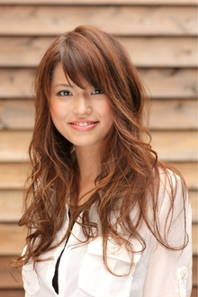 ツヤサラサラモードで大人かわいい前髪のラブクラシカルヘアー35|Hair art chiffon 川口東口店のヘアスタイル