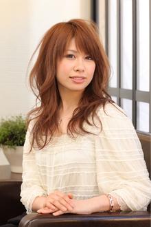 ツヤサラサラモードで大人かわいい前髪のラブクラシカルヘアー39|Hair art chiffon 川口東口店のヘアスタイル