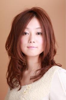 ツヤサラサラモードで大人かわいい前髪のラブクラシカルヘアー42|Hair art chiffon 川口東口店のヘアスタイル