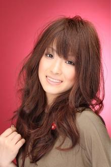 ツヤサラサラモードで大人かわいい前髪のラブクラシカルヘアー44|Hair art chiffon 川口東口店のヘアスタイル