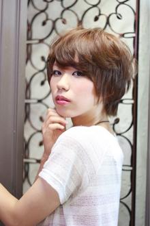 ツヤサラサラモードで大人かわいい前髪のラブクラシカルヘアー46|Hair art chiffon 川口東口店のヘアスタイル