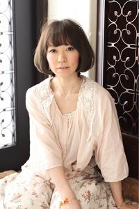 ツヤサラサラモードで大人かわいい前髪のラブクラシカルヘアー48