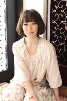 ツヤサラサラモードで大人かわいい前髪のラブクラシカルヘアー48|Hair art chiffon 川口東口店のヘアスタイル