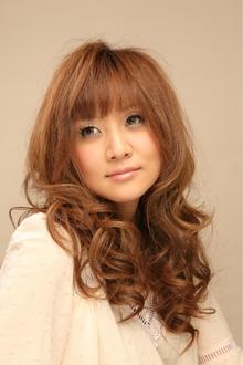 ツヤサラサラモードで大人かわいい前髪のラブクラシカルヘアー55 Hair art chiffon 川口東口店のヘアスタイル