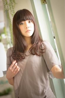 ツヤサラサラモードで大人かわいい前髪のラブクラシカルヘア103|Hair art chiffon 川口東口店のヘアスタイル