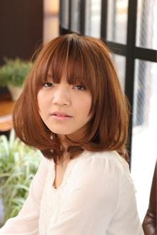 ツヤサラサラモードで大人かわいい前髪のラブクラシカルヘアー61|Hair art chiffon 川口東口店のヘアスタイル