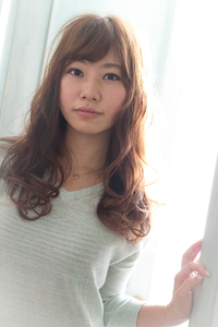 ツヤサラサラモードで大人かわいい前髪のラブクラシカルヘア115