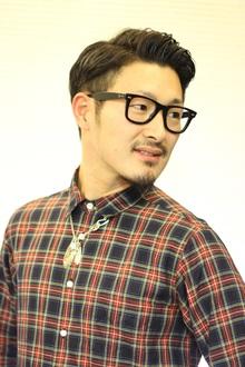 ニュアンスミドル束感ショート|Hair art chiffon 川口東口店のヘアスタイル