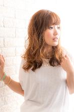 ツヤサラサラモードで大人かわいい前髪のラブクラシカルヘア170|Hair art chiffon 川口東口店のヘアスタイル