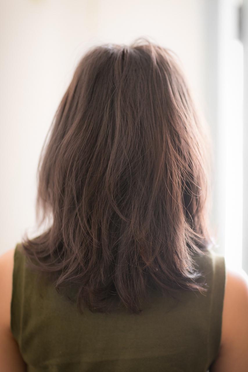 ツヤサラサラモードで大人かわいい前髪のラブヘアー186