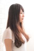 ツヤサラサラモードで大人かわいい前髪のラブクヘア181【川口東口】