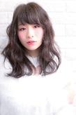 ツヤサラサラモードで大人かわいい前髪のラブヘア 203