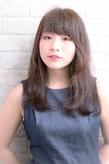 ツヤサラサラモードで大人かわいい前髪のラブヘア 201