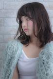 ツヤサラサラモードで大人かわいい前髪のラブヘア178