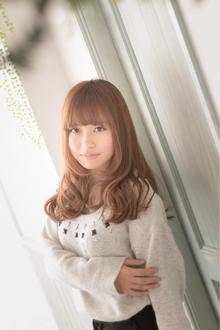 ツヤサラサラモードで大人かわいい前髪のラブクラシカルヘア79|Hair art chiffon 池袋東口店のヘアスタイル
