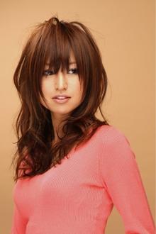 ツヤサラサラモードで大人かわいい前髪のラブクラシカルヘア36|Hair art chiffon 池袋東口店のヘアスタイル