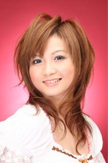 ツヤサラサラモードで大人かわいい前髪のラブクラシカルヘア29 Hair art chiffon 池袋東口店のヘアスタイル