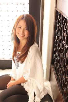 ツヤサラサラモードで大人かわいい前髪のラブクラシカルヘア46|Hair art chiffon 池袋東口店のヘアスタイル