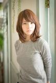 ツヤサラサラモードで大人かわいい前髪のラブクラシカルヘア100