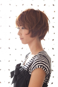ツヤサラサラモードで大人かわいい前髪のラブクラシカルヘア12