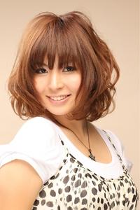 ツヤサラサラモードで大人かわいい前髪のラブクラシカルヘア51