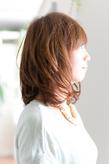 ツヤサラサラモードで大人かわいい前髪のラブクラシカルヘア122