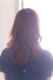 ツヤサラサラモードで大人かわいい前髪のラブクラシカルヘア129