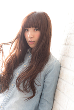 ツヤサラサラモード大人かわいい前髪のラブクラシカルヘア130|Hair art chiffon 池袋東口店のヘアスタイル