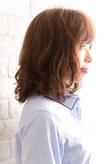 ツヤサラサラモード大人かわいい前髪のラブクラシカルヘア132