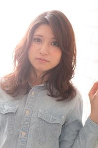 ツヤサラサラモード大人かわいい前髪のラブクラシカルヘア133