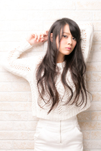 ツヤサラサラモード大人かわいい前髪のラブクラシカルヘア134|Hair art chiffon 池袋東口店のヘアスタイル