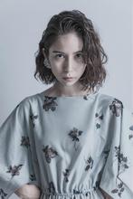 セミウェットパーマ|femmeのヘアスタイル