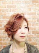 カッコ可愛い☆アシメ風ショートボブ|te-etのヘアスタイル