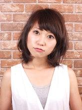 オトナ可愛い☆ナチュラルミディ|te-etのヘアスタイル