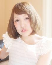 ふんわり可愛いミディボブ☆|sugar-Bのヘアスタイル