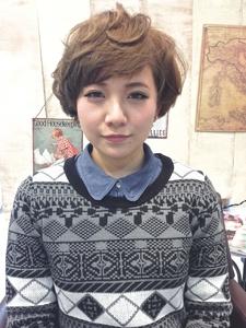 外国人風★スモーキーアッシュ|AnFye for prcoのヘアスタイル