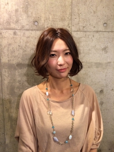 大人可愛いショートボブ☆|Growのヘアスタイル