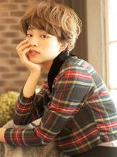 無造作なくせ毛風ニュアンスカールマッシュ☆|BEKKU hair salon 恵比寿 代官山のヘアスタイル