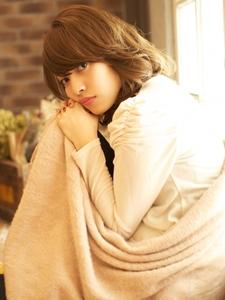 毛先のやわらかニュアンスが◎なフェアリーミディ☆|BEKKU hair salon 恵比寿店のヘアスタイル