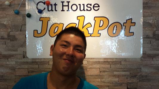 グラデーション系ソフモヒ!|Cut House Jackpotのヘアスタイル