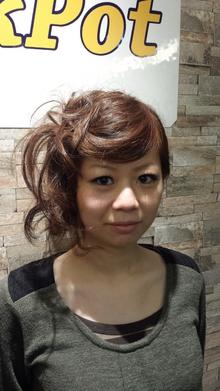パーティションボブ☆|Cut House Jackpotのヘアスタイル