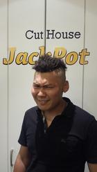 ボヘミアンヘア|Cut House Jackpotのヘアスタイル