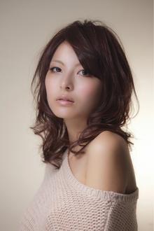 艶ウェーブ|EX-grace Hair Resort 深草店 With Coccoloのヘアスタイル
