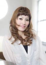 リボンウェーブ EX-grace Hair Resort 七条店 With Coccolo 増田 圭介のヘアスタイル